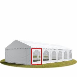 Stěna PVC  2x2m polokruhová okna