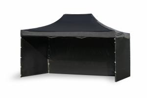 Namiot ekspresowy 3x4,5m Czarny