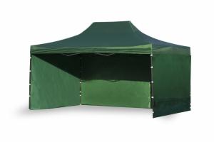 Namiot ekspresowy 3x4,5m Zielony