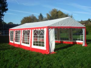 Zahradní stan 5x10m PE