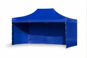 Namiot ekspresowy 3x4,5m Niebieski