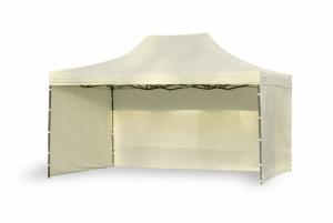 Namiot ekspresowy 3x4,5m Beżowy