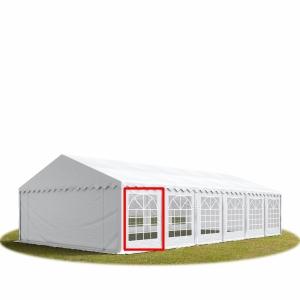 Ściana PVC 2x2m okno kwadratowe