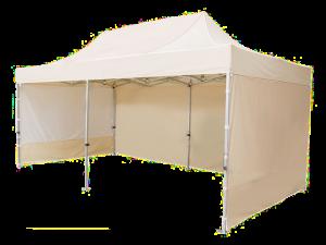Namiot ekspresowy CIĘŻKI 3x6 BEŻOWY