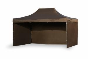 Namiot ekspresowy 3x4,5m Brązowy