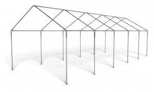 Namiot PVC 4x10m STANDARD