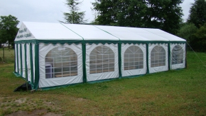 Namiot PVC 5x10m PREMIUM