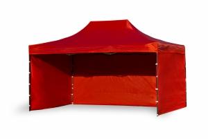 Namiot ekspresowy 3x4,5m Czerwony