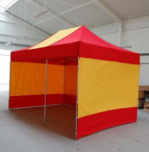 Namiot ekspresowy ALUMINIOWY LUX 4x8