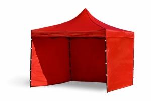Namiot ekspresowy 3x3m Czerwony