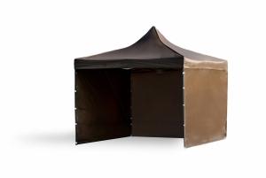 Namiot ekspresowy 3x3m Brązowy