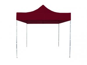 Namiot ekspresowy CIĘŻKI 2,5 x 2,5 BORDOWY